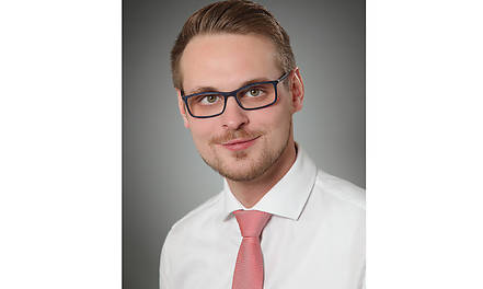Martin Kasprowicz ist seit 1. Januar 2018 Junior Key Account Manager Fachhandel